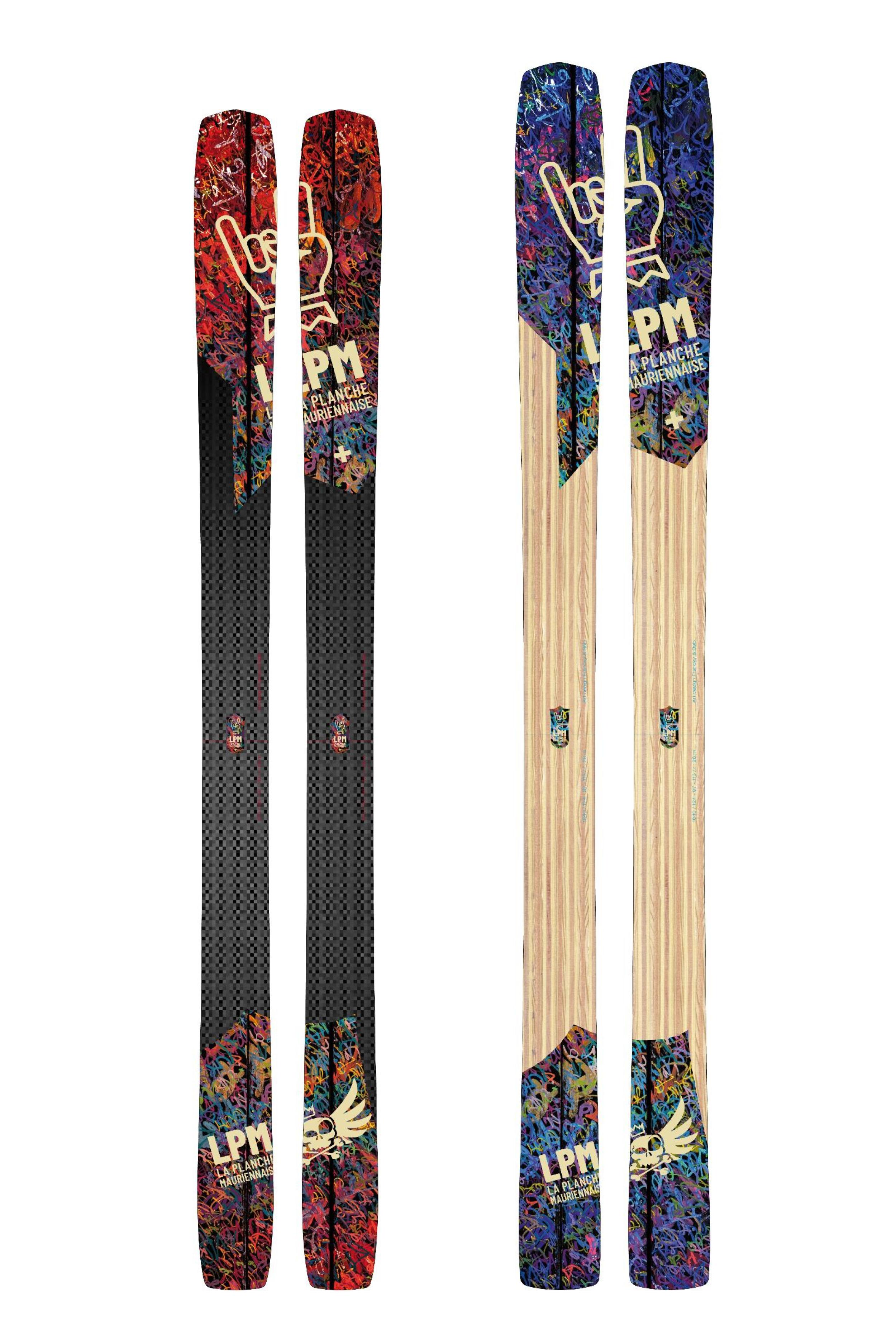 Design 97 LPM La Planche Mauriennaise fabrications artisanale skis Maurienne Savoie Albiez France ski