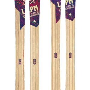 Design 105 ski LPM La Planche Mauriennaise fabrications artisanale skis Maurienne Savoie Albiez France