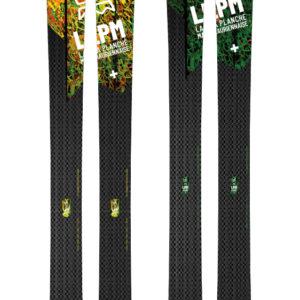 Design Black 105 ski LPM La Planche Mauriennaise fabrications artisanale skis Maurienne Savoie Albiez France