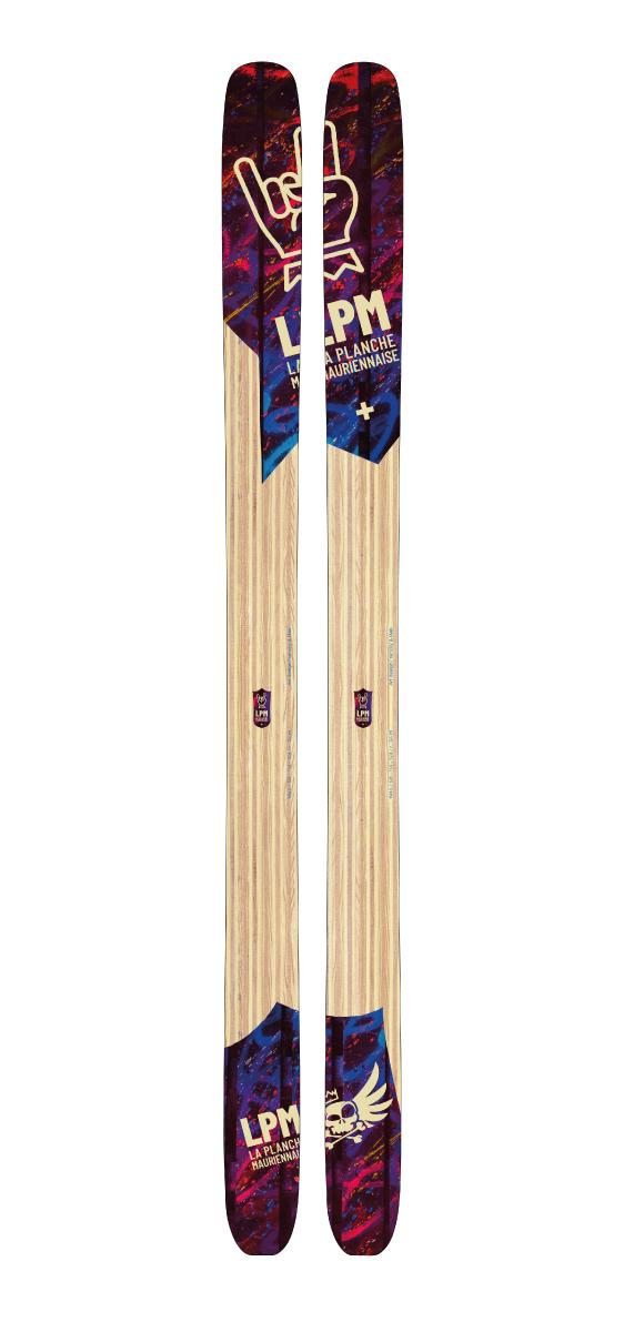 Design 114 ski LPM La Planche Mauriennaise fabrications artisanale skis Maurienne Savoie Albiez France