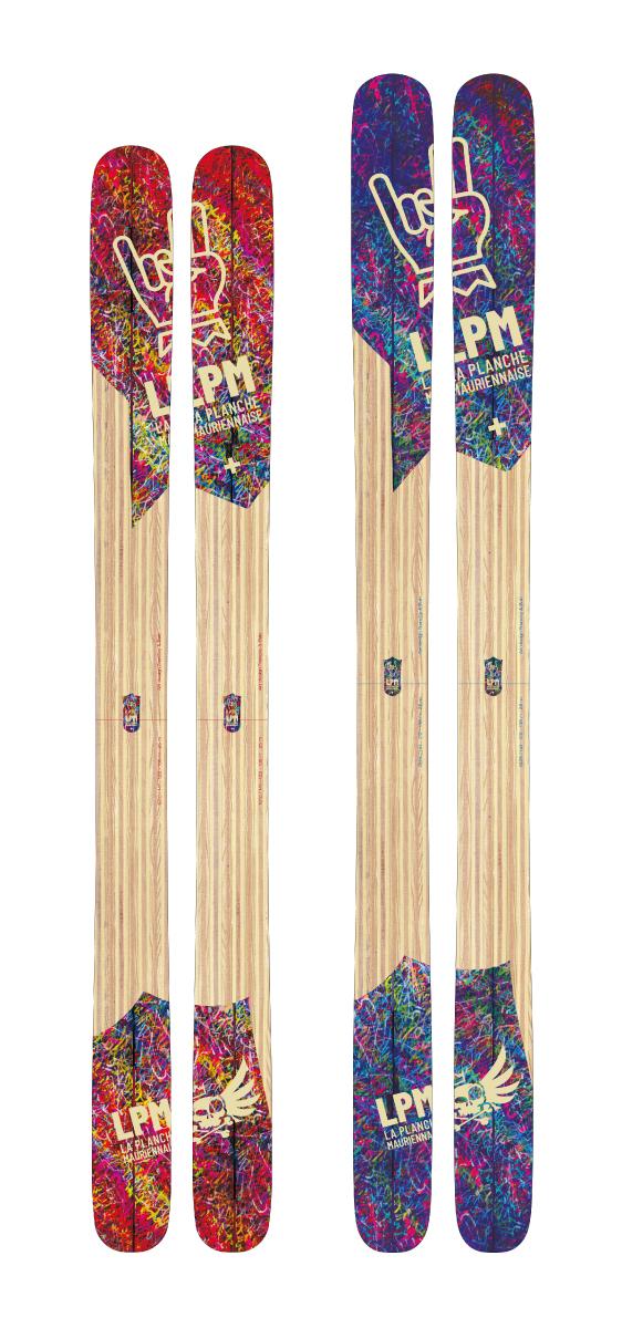 Design 122 ski LPM La Planche Mauriennaise fabrications artisanale skis Maurienne Savoie Albiez France