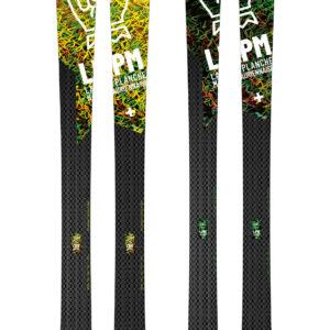 Design Black 88 ski LPM La Planche Mauriennaise fabrications artisanale skis Maurienne Savoie Albiez France