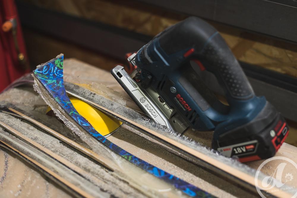 fabrication LPM La Planche Mauriennaise fabrications artisanale skis Maurienne Savoie Albiez France