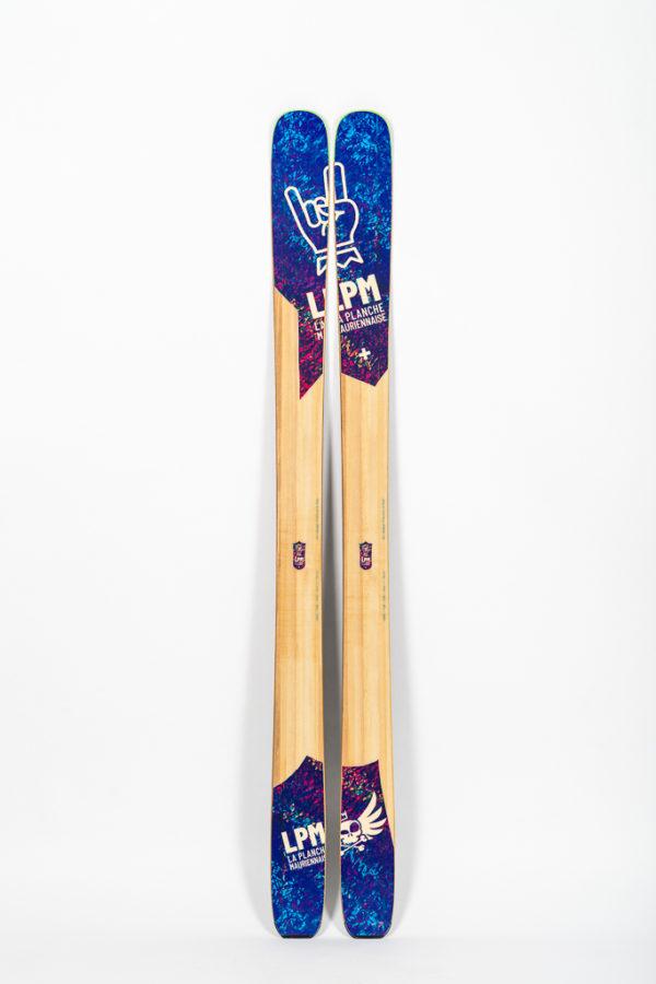le 105 ski polyvalent lpm la planche mauriennaise savoie ski freeride design alpes maurienne artisan artisanat