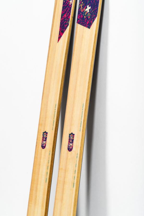 la planche mauriennaise lpm savoie mont blanc le 105 ski freeride design alpes maurienne artisan artisanat