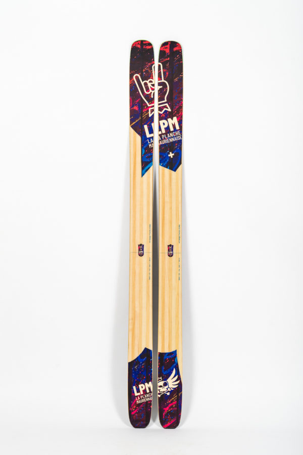 le 114 savoie mont blanc la planche mauriennaise lpm ski freeride design alpes maurienne artisan artisanat