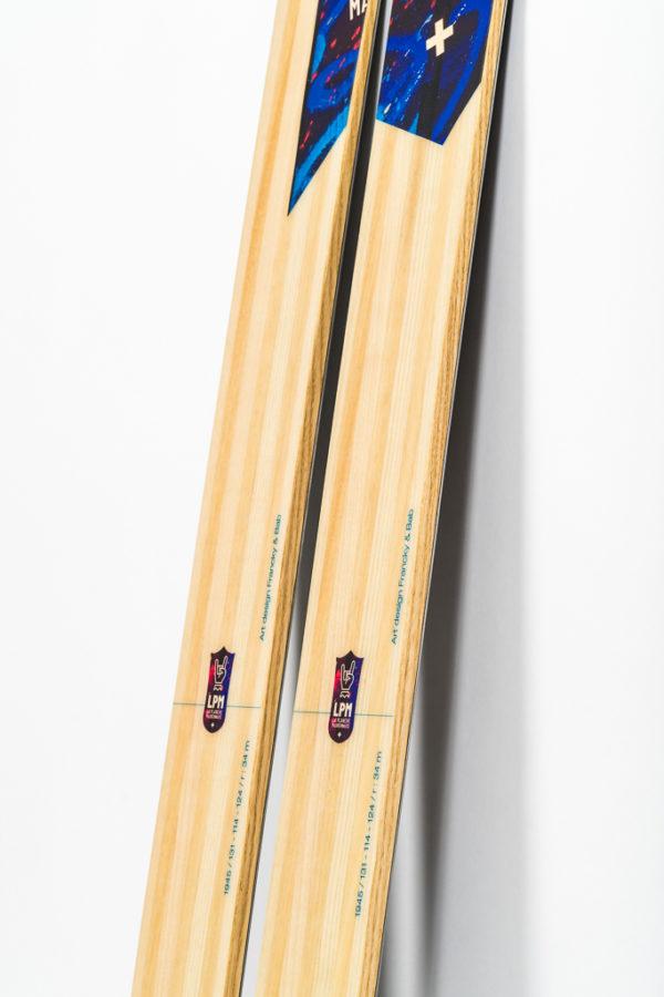 le 114 la planche mauriennaise savoie mont blanc lpm ski freeride design alpes maurienne artisan artisanat bigmountain derby