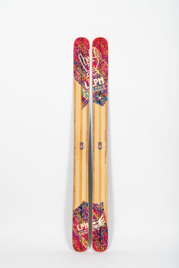 le 122 lpm la planche mauriennaise savoie ski freeride design alpes maurienne artisan artisanat
