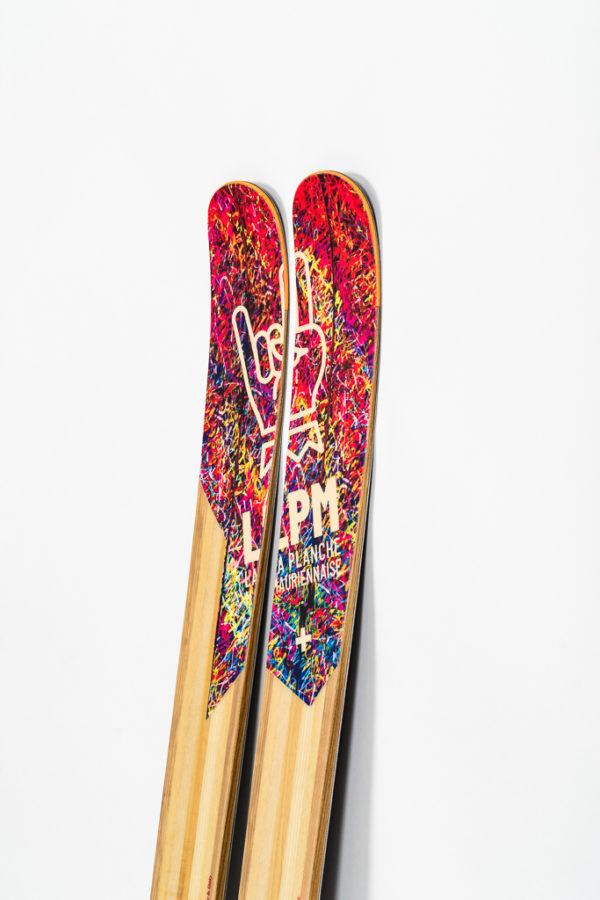 le 122 lpm la planche mauriennaise savoie mont blanc ski freeride design alpes maurienne artisan artisanat