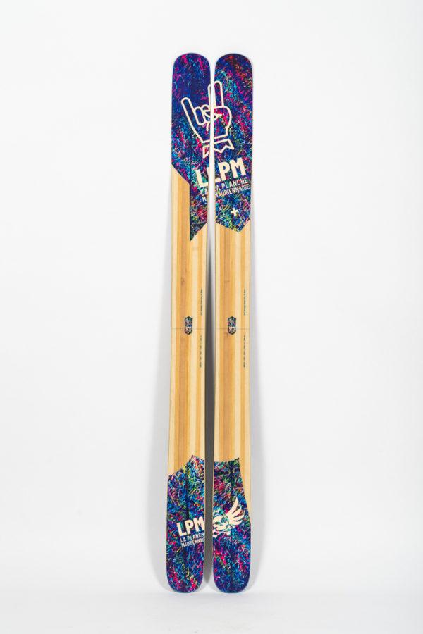 le 122 lpm la planche mauriennaise freestyle backcountry savoie mont blanc ski freeride design alpes maurienne artisan artisanat bigmountain freeridebackcountry