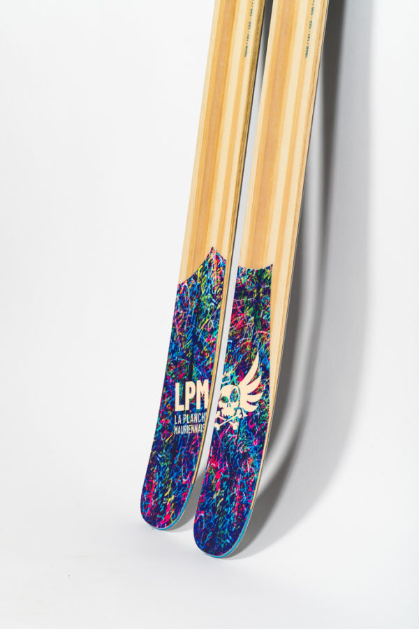 le 122 la planche mauriennaise lpm ski freeride design alpes maurienne artisan artisanat freeride backcountry big mountain savoie mont blanc