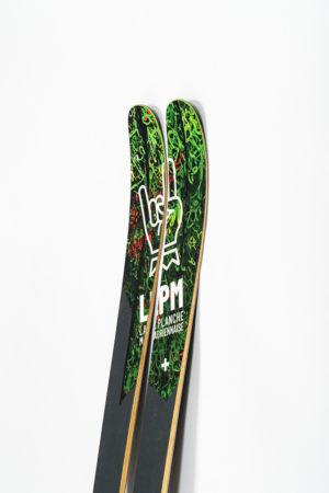 le black 105 la palnche mauriennaise lpm savoie mont blanc all mountain skis freerando ski freeride design alpes maurienne carbone artisan artisanat