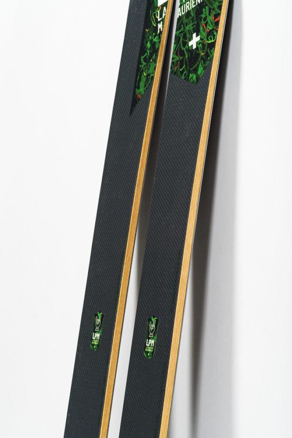 lpm la planche mauriennaise le black 105 freerando ski freeride design alpes maurienne carbone artisan artisanat all mountain savoie mont blanc