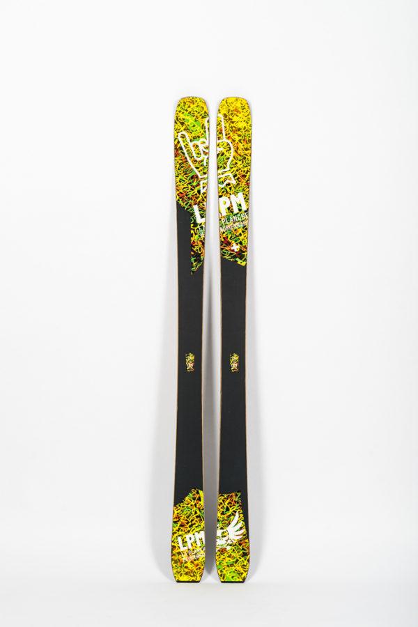 lpm la planche mauriennaise le black 88 savoie mont blanc freerando ski freeride design alpes maurienne carbone artisan artisanat skis de randonnée