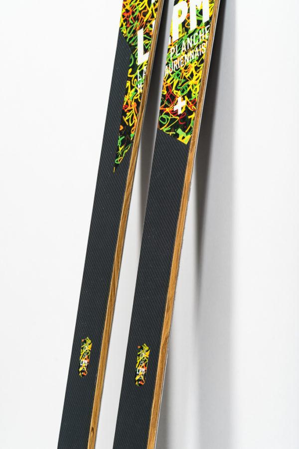 le 88 la planche mauriennaise lpm savoie freerando ski freeride design alpes maurienne carbone artisan artisanat