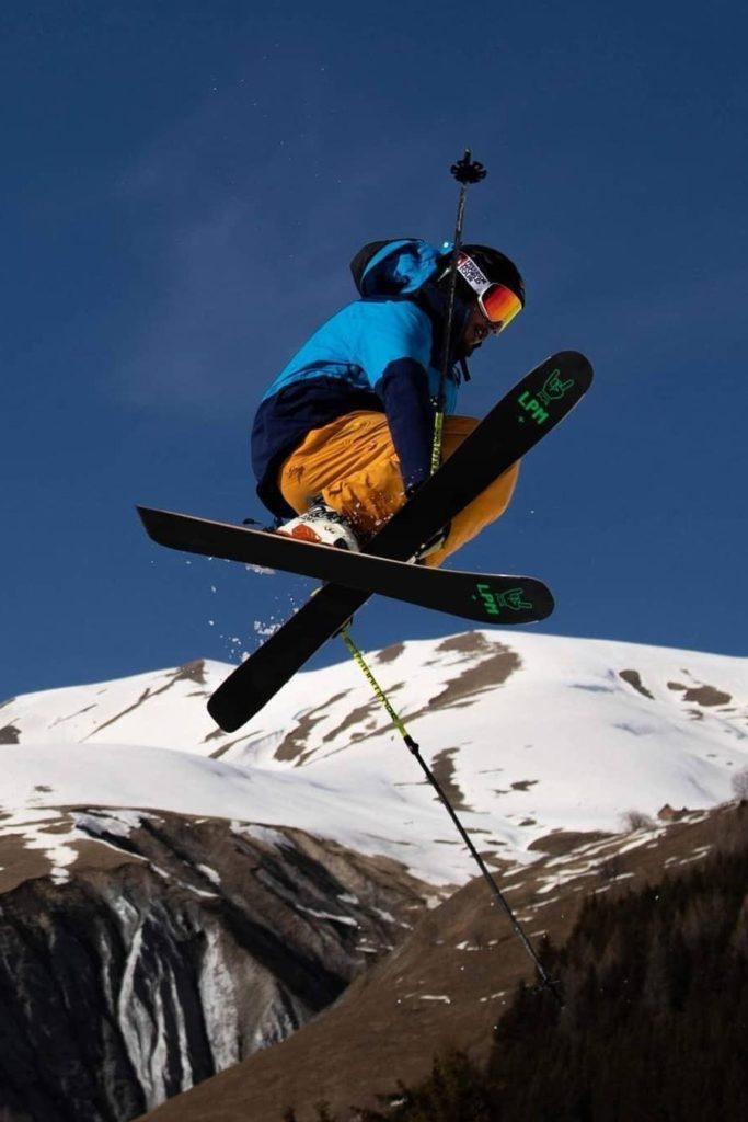 Design 95 ski LPM La Planche Mauriennaise fabrications artisanale skis Maurienne Savoie Albiez France